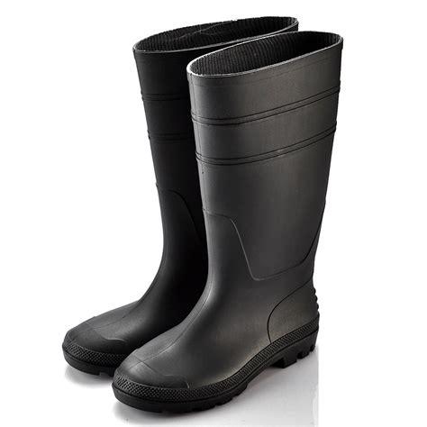 Kidorable Boots Sepatu Hujan Boots Hujan pria bekerja sepatu bot dari karet hitam w 6036b keselamatan bukti air boots hujan id produk