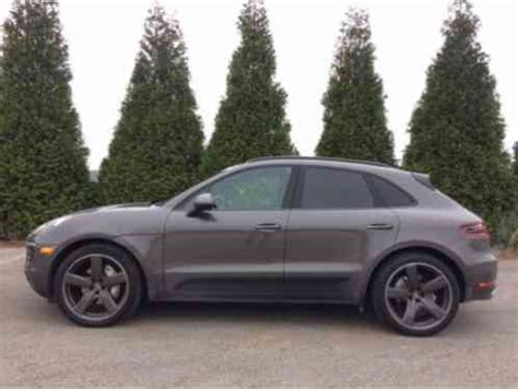 porsche car 4 door porsche macan s 4 door 2016 thi car i in exceptional like