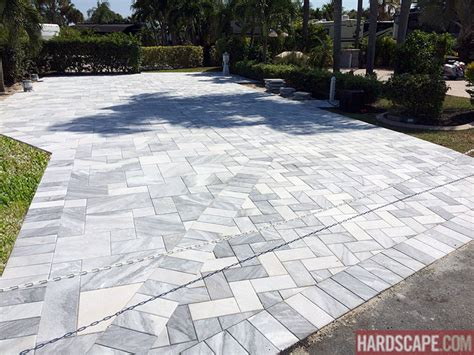 natural stone driveway driveway paver installation by flpavers