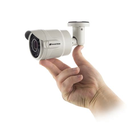 Hello Does 5 Megapixels Now by Arecont Vision 174 Compact Microbullet 174 Indoor Outdoor Day