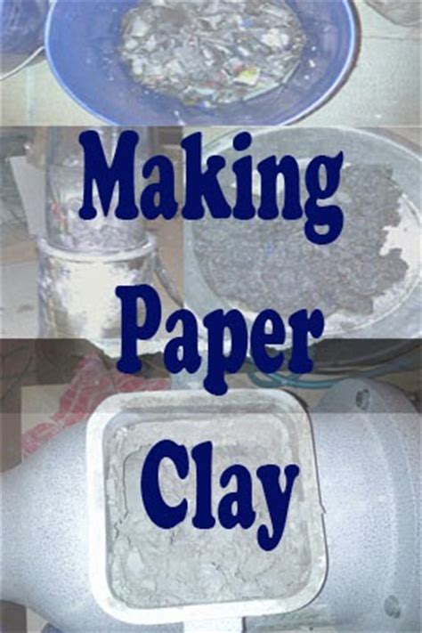 Make Paper Clay - combat medic to ceramic artist paper clay