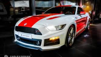 Mustang Ford Ford Mustang Gt Carlex Design Paid A Visit To Roush