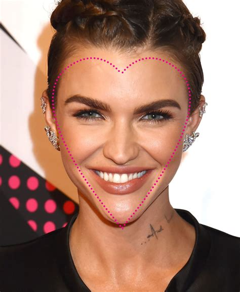 heart shaped faces most attractive contouring for different face shapes like never before