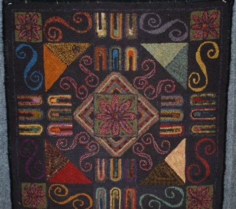 rug naperville 414 best images about rug hooking abstract geometric etc on hooked rugs rug