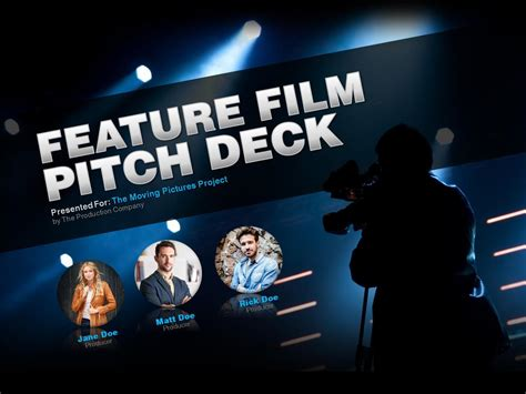 feature film pitch deck by pitch design issuu