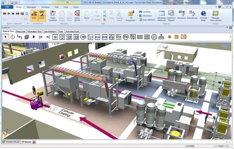 Plant Layout Simulation Software | more possibilities for manufacturing simulation wi