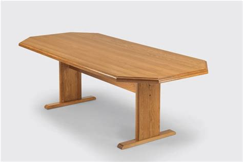 Oak Meeting Table 36 Quot X 72 Quot Solid Oak Octagonal Conference Tables See Other Sizes