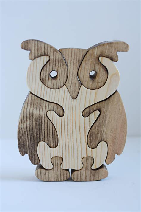 Mainan Edukatif Jigsaw Puzzle 3d Kayu Binatang Anjing owl wood puzzles i d loved this when i was a kid wood puzzles tr 228 sl 246 jd