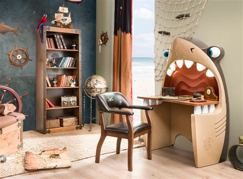 pirate ship bedroom beach style kids miami by