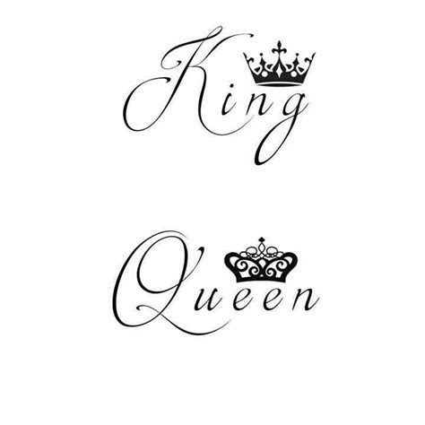 king typography calligraphy lettering tatoo