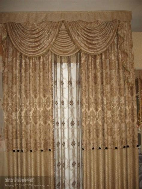 window curtains with attached valance plain polyester window curtain with attached valance