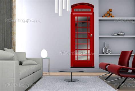 mappa cabine telefoniche londra cabina telefonica adesivi murali vdv1021it