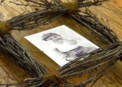 rustic craft projects rustic picture frame craft ideas