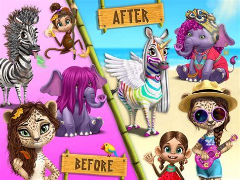 jungle animal hair salon  tropical pet makeover apk