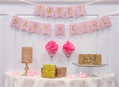baby shower decorations uncategorized girl baby shower decorations