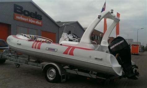 rib te koop zonder motor pro marine 5 8m rib met mercury 60 pk viertakt 2012