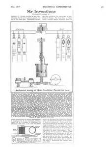 What Did Nikola Tesla Discover Quot The Tesla Collection Quot Quot My Inventions Part Four The
