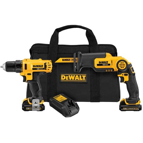 dewalt 12 volt max lithium ion drill driver and