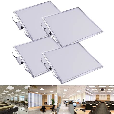 Indoor Ceiling Panels 12w 24w 48w Ultra Thin Led Recessed Ceiling Panel