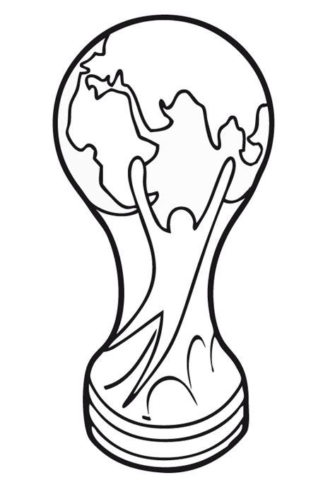 imagenes de como hacer una copa de futbol copa de futbol para colorear imagui