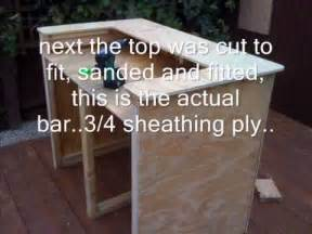 Inexpensive House Plans To Build outdoor bar built using old pallet wood youtube