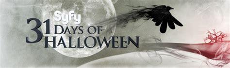 syfy announces  days  halloween schedule pophorror