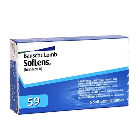 Soflens Bausch Lomb 59 Monthly Contact Lenses bausch lomb soflens59 contact lenses singapore at