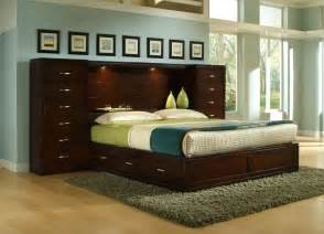 wall storage bedroom sets perimeter place perimeter bookcase king bed pier group by