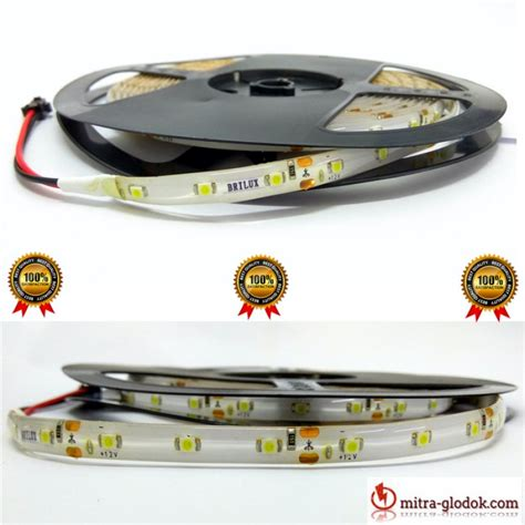 Brilux Led Smd 5050 Mata Besar Outdoor Color Rgb E9 led brilux smd 2835 mata kecil ip 65 outdoor
