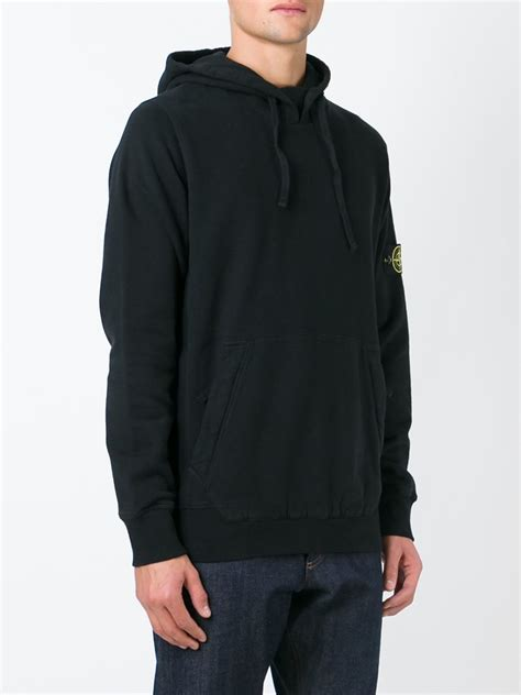 Jaket Sweater Switer Hoodie Ripcurl Pocket island kangaroo pocket hoodie in black for lyst