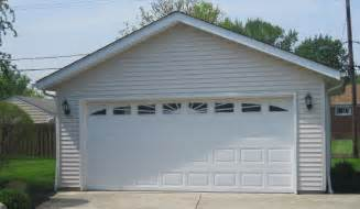 Garage Styles 2 car garage styles greater cleveland ohio area