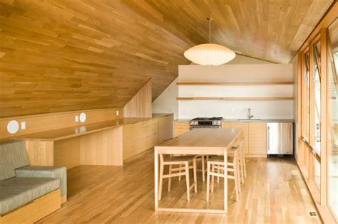 garage apartment interior designs brilliant garage apartment maximizes space with custom multi functional furniture inhabitat