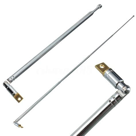 full channel  fm radio telescopic antenna replacement cm length  sections ebay