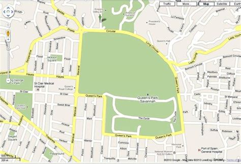 map of port of spain streets thursday run port of spain hash house harriers posh3