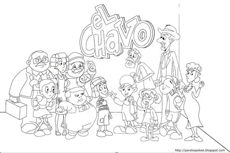 el chavo del ocho coloring pages apexwallpapers com