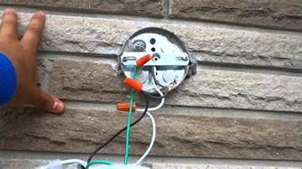 changing outdoor light fixture how to change an outdoor light fixture by yourself