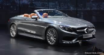 Mercedes S Class S500 Gallery A217 Mercedes S Class Cabriolet The S500