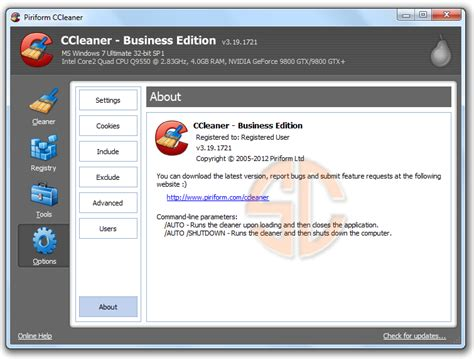 ccleaner x32 download software gratis ccleaner all edition v3 19 1721