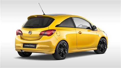 Yellow Exterior Paint by Vauxhall Corsa Limited Edition Corsa Vauxhall