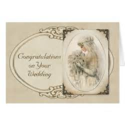 vintage wedding congratulations cards zazzle
