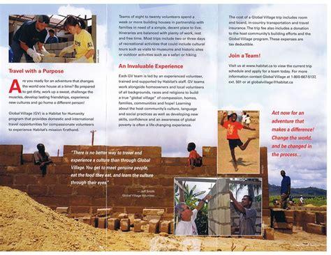 habitat for humanity gps community donation sponsorships