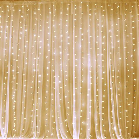led curtain backdrop 20ft x 10ft led lights organza backdrop curtain photobooth