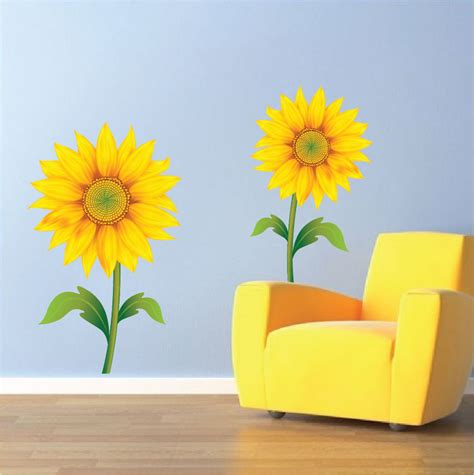 Sunflower Wall Stickers