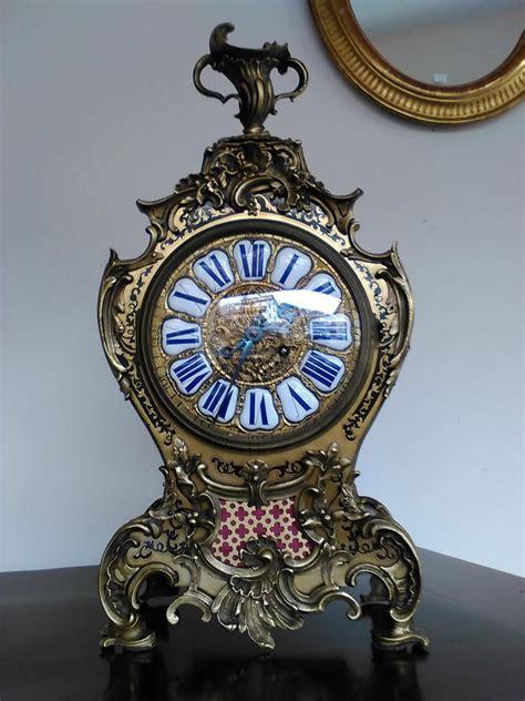 orologio a pendolo da tavolo pendolo da tavolo antiquariato su anticoantico
