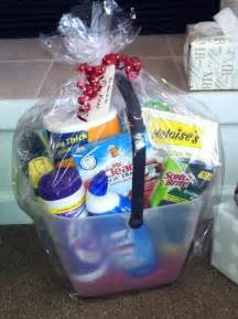 bathroom gift basket ideas 17 best images about house hold gift basket on