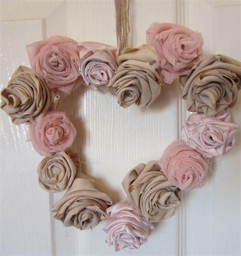 shabby chic crafts to make shabby chic wreath shabby