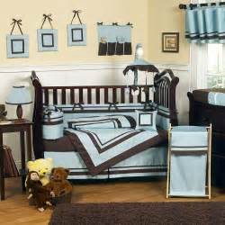 Blue And Brown Nursery Decorating Ideas Excited Brown And Blue Bedding For Nursery Atzine