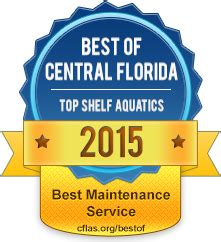 Top Shelf Services by 2015 Best Of Central Florida Winners Cflas