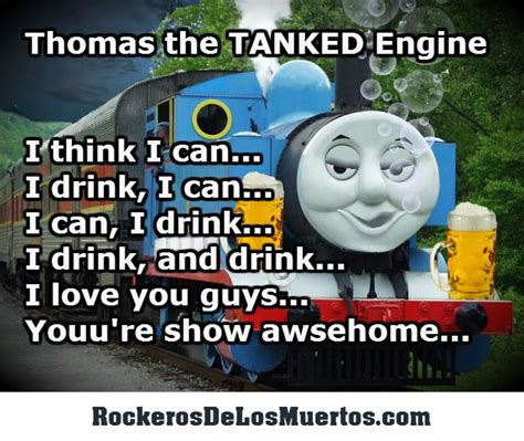 Meme Engine - thomas the tanked engine train engine beer drunk