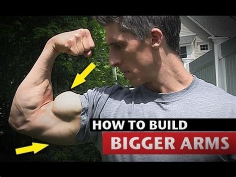 how to make your bigger how to get big arms much faster triceps and biceps
